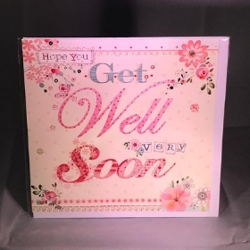 Get Well Soon Greetings Card