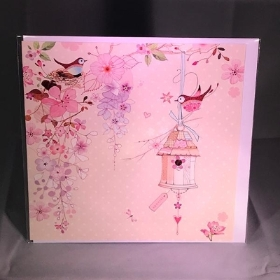 Pretty Flowers Blank Greeting Card