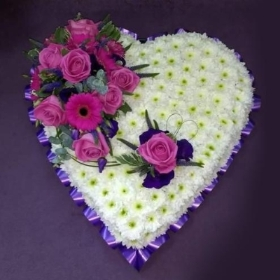 Classic Heart Pink and Purple