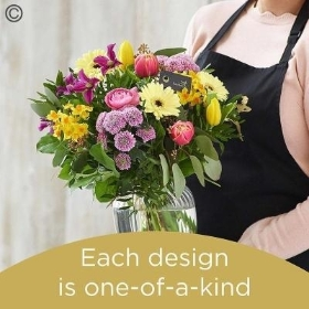 Spring Florists Choice Vase Arrangement